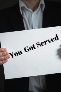 summons, court order, process server, law