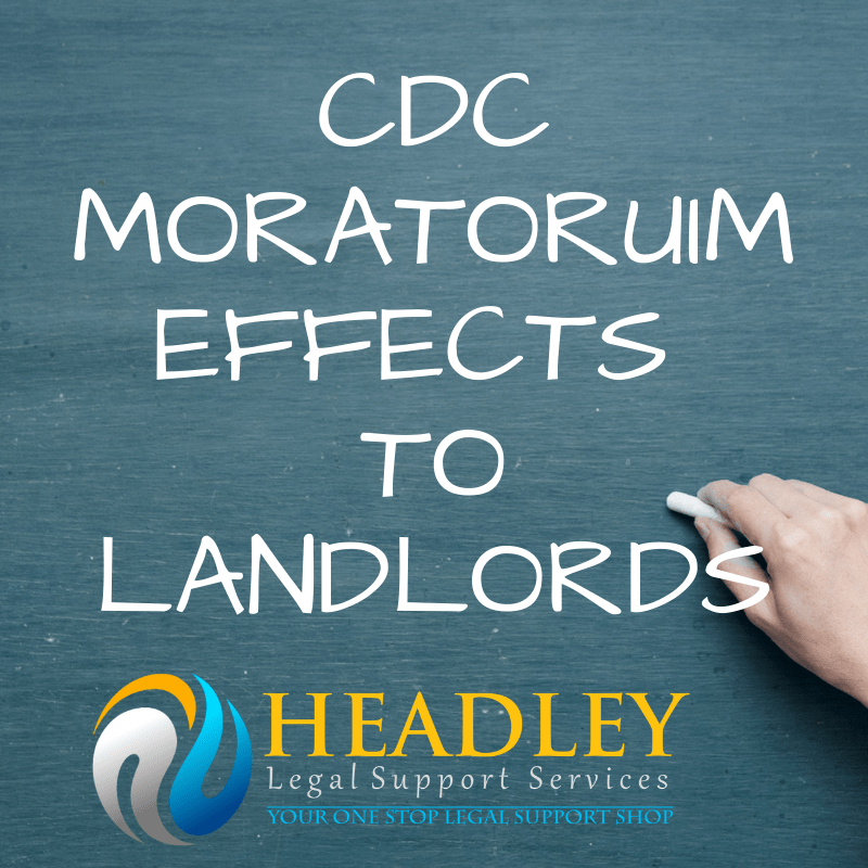 Landlords, cdc